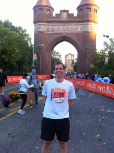 Me Ready to Go Before the Hartford Marathon