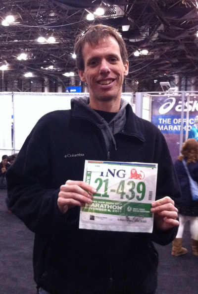 Achievement Unlocked: 2011 ING New York City Marathon Bib Acquired