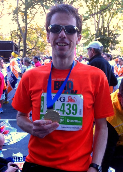 Victory! A new PR at the 2011 ING New York City Marathon!